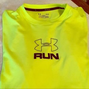Under Armour heat gear run shirt